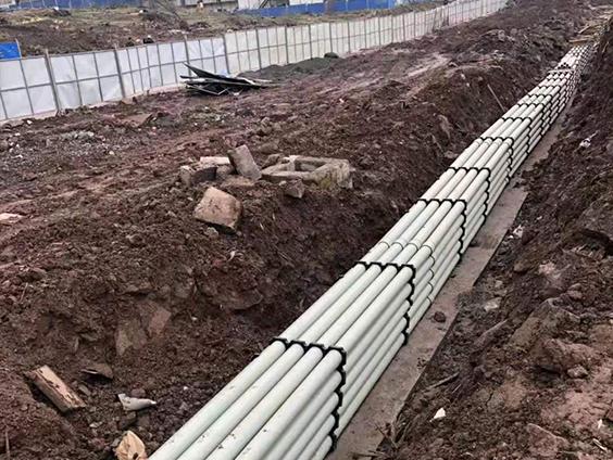 市政工程排水管安装