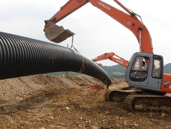 高速公路波纹排水管